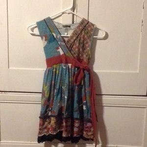 Matilda Jane wrap dress